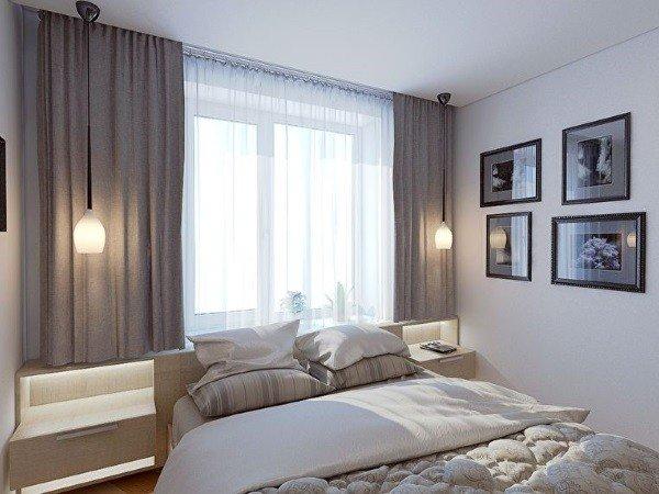 Эконом окна для спальни