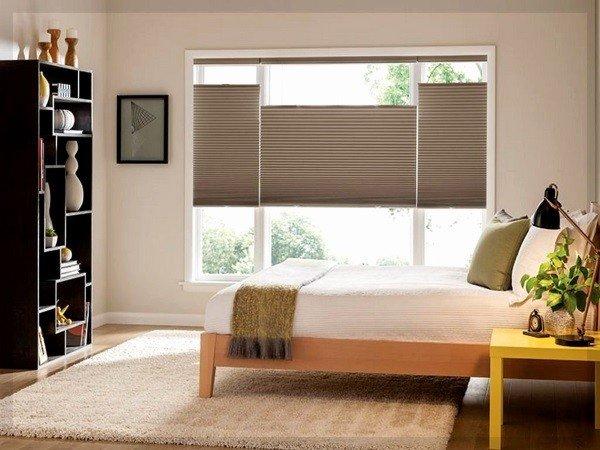 Стандартные окна для спальни