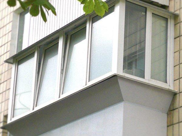 балкон на последнем этаже 3