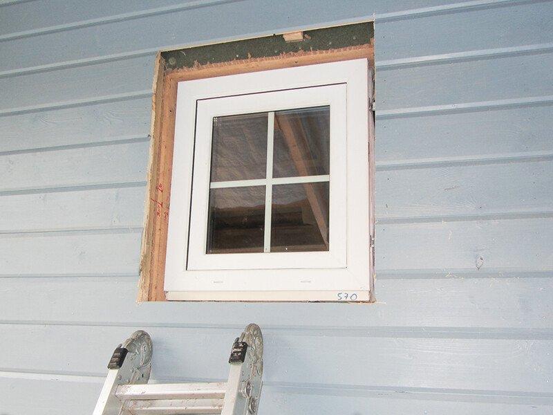 окна для каркасных домов