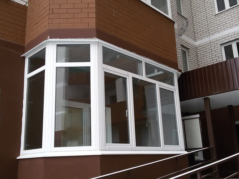 Окна с установкой от Русроллс
