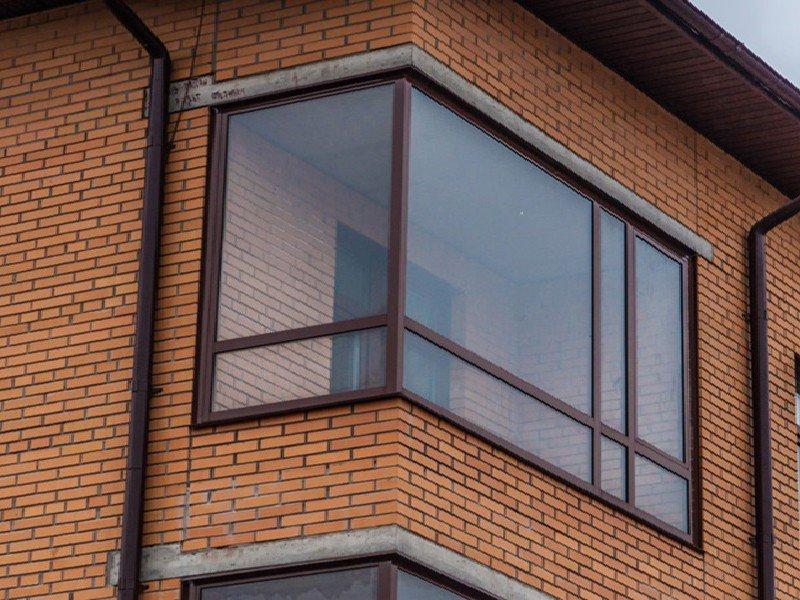 Окна с завода эконом