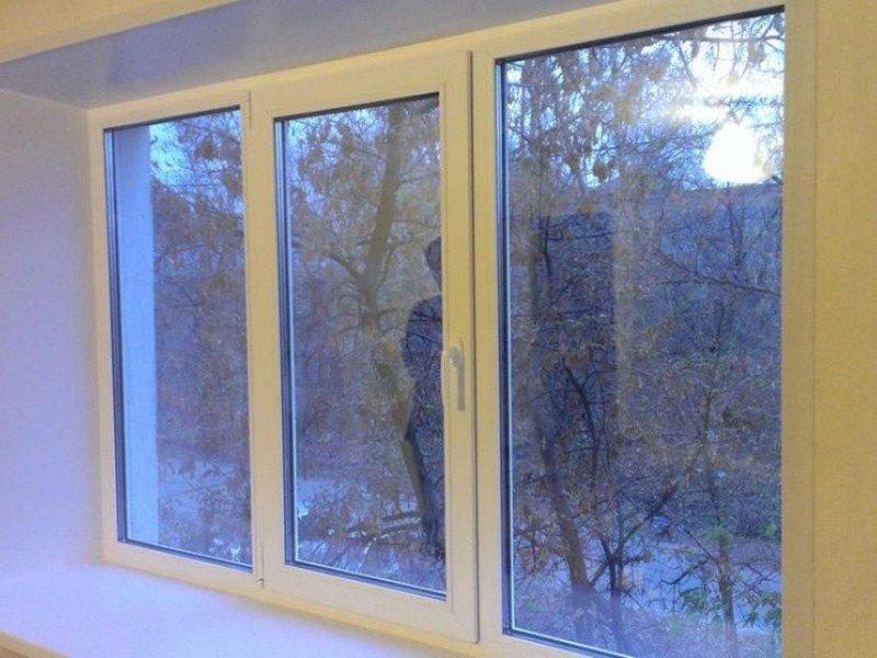 Окна с установкой стандарт