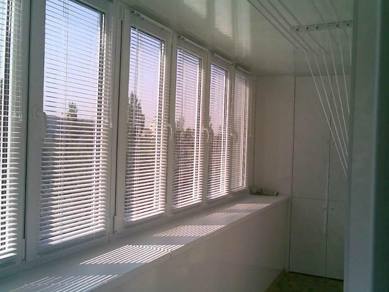 остекление лоджии окнами