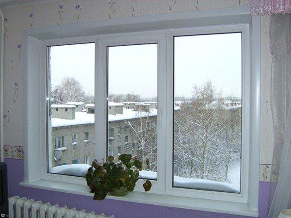 Окна с установкой