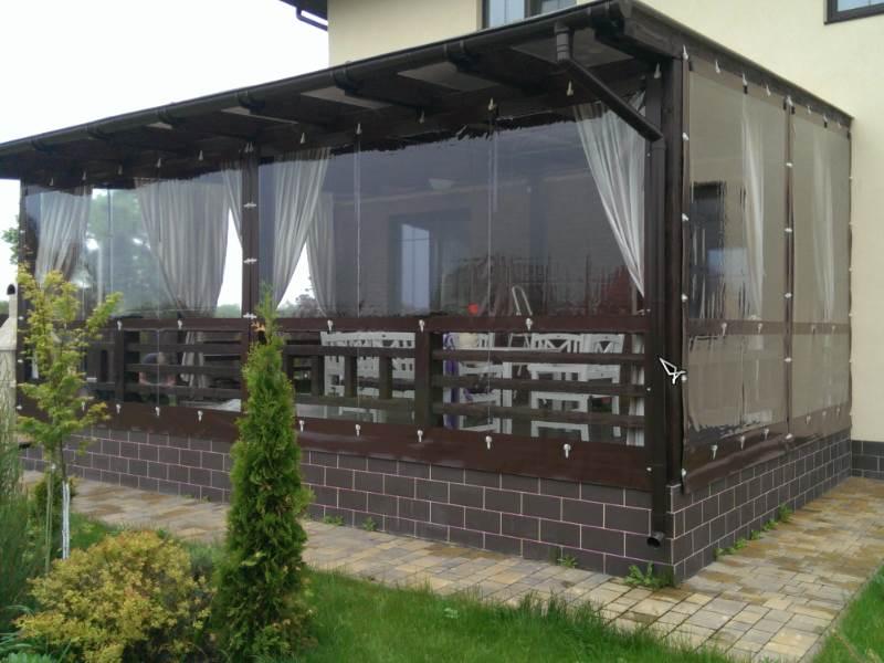 Защитные шторы ПВХ