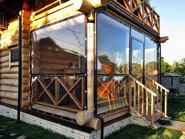 полиэтиленовые шторы