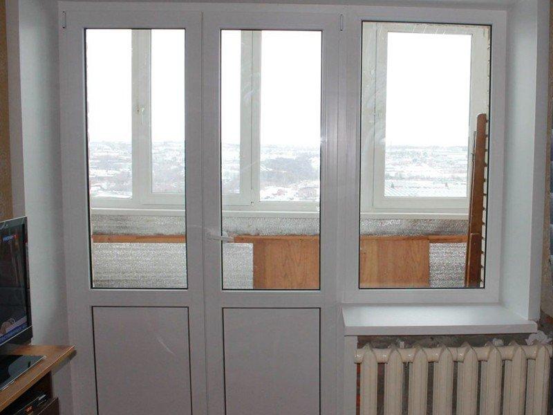 Стеклянные двери стандарт