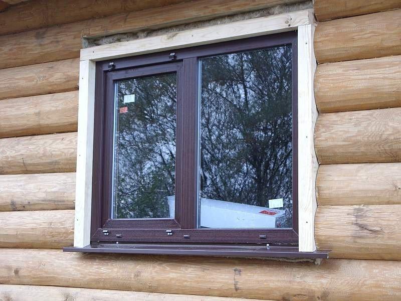 окна в деревянный дом от Русроллс
