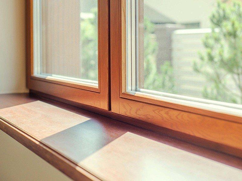 остекление деревянными окнами стандарт
