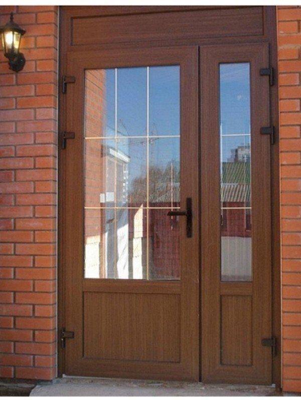 дверь с окном премиум
