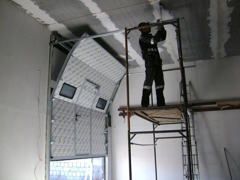 Установка автоматических ворот «под ключ»